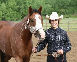 RDK Class E Lady - 2008 chestnut sabino overo pinto and paint filly for sale