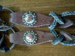 RDK plain slobber straps with bling conchos